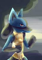 lucario [request] by CynicalAshhole