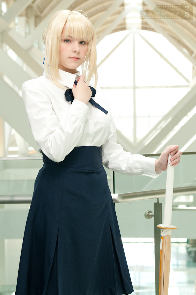 Cosplay - Σελίδα 2 Casual_Saber_by_maridah