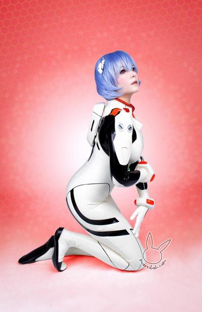 Rei Ayanami by maridah