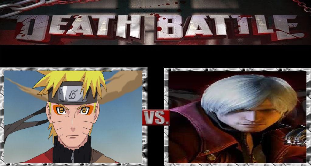 Death Battle: Dante vs Naruto Uzumaki - Prelude by ragazz on