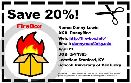 FireBox ID by firebox
