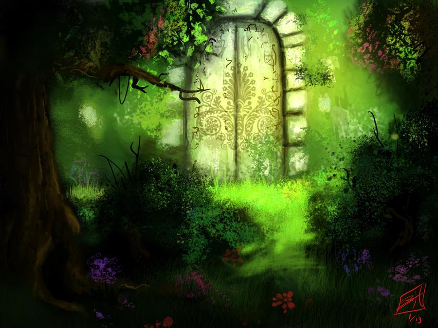 Forgotten Gate by angryangler