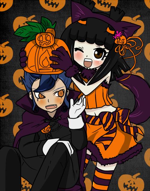 Hiromi Akira y Kyousuke Feliz Halloween by Satoko-Hiro-Kyou-13
