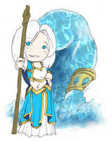 Warcraft - Mini Kathelys by Ghostey