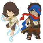 PoP: Mini Prince and Elika