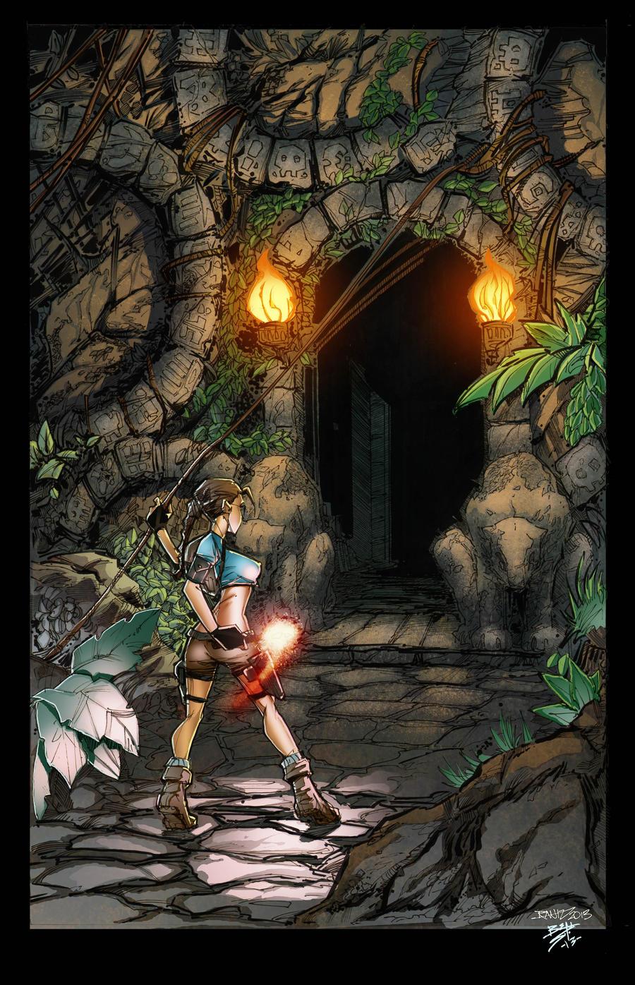 Tomb Raider: colored by VehementStudios