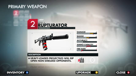 Primary Weapon Interface by ElusiveOne