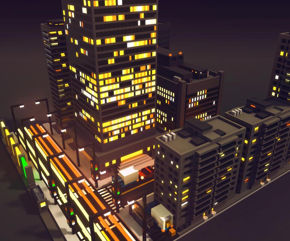 CityBlockComp01 by ElusiveOne