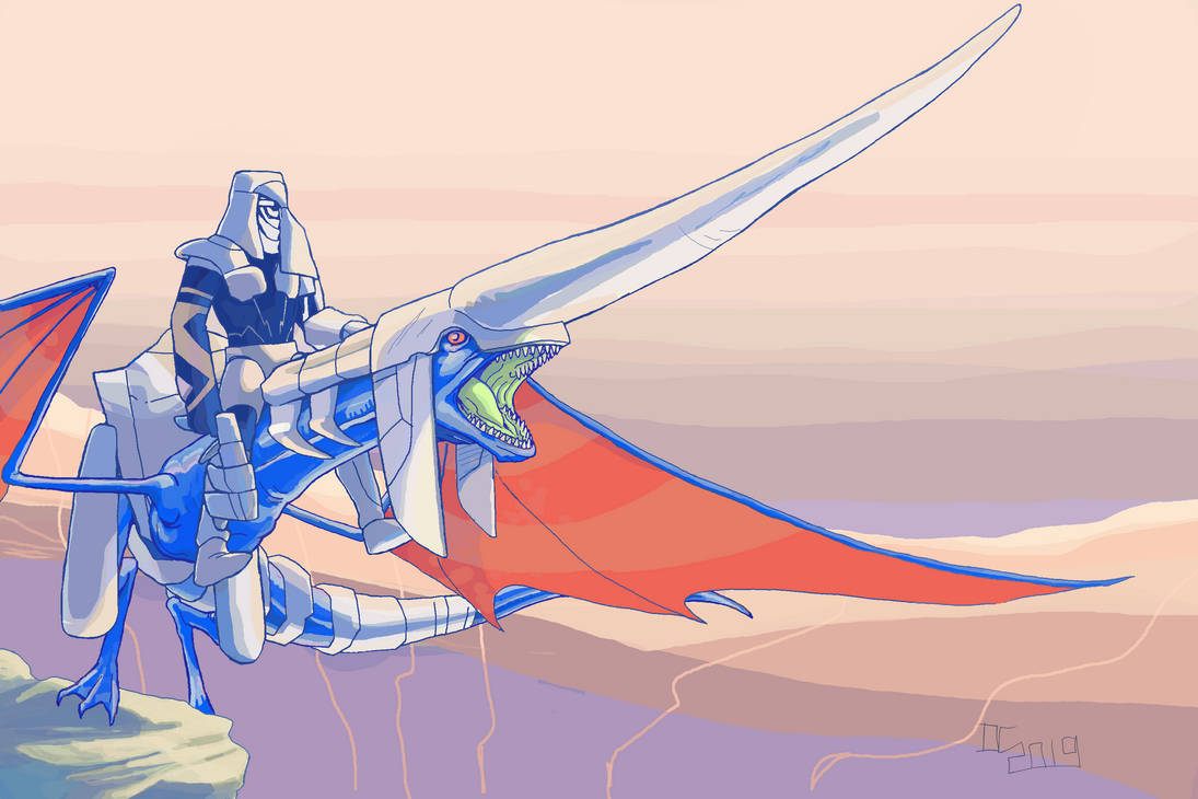 Panzer Dragoon by PIT-FACE