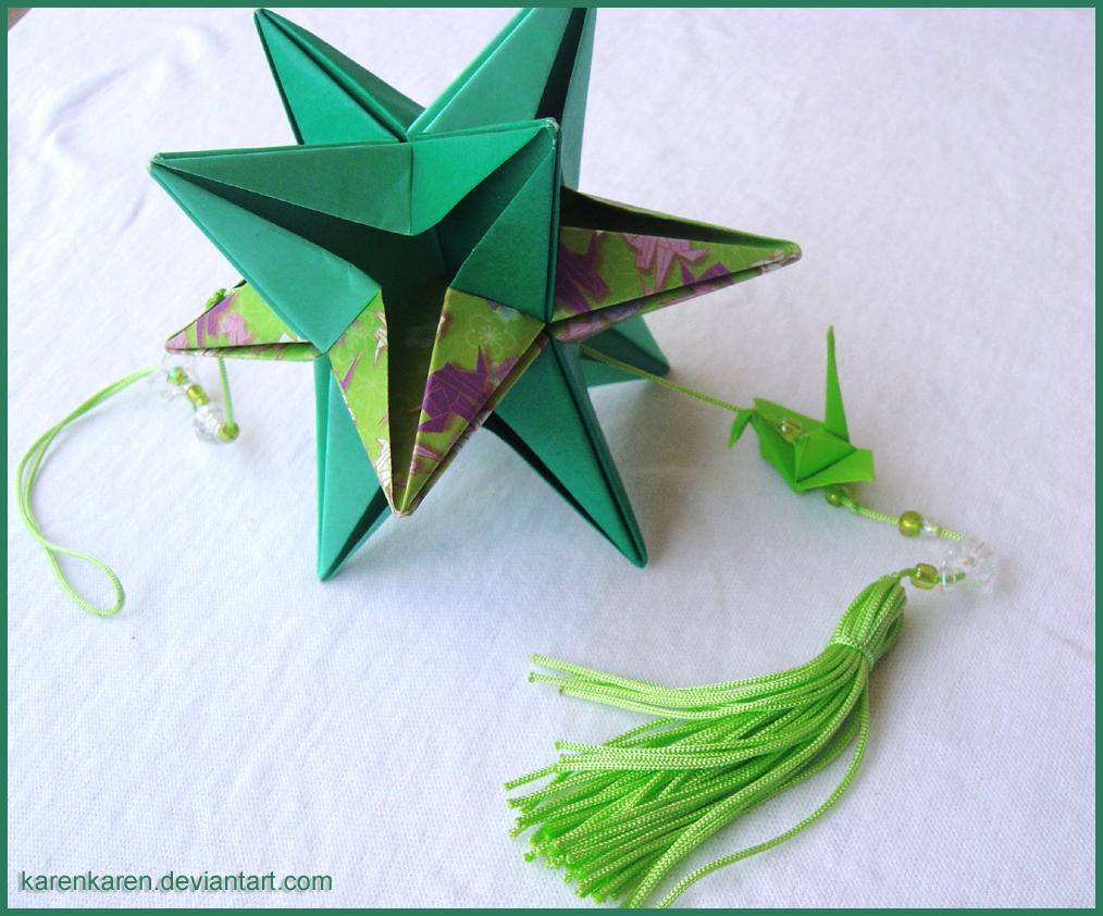 Cool 3D Origami Star | Origami stars, Modular origami, 3d origami | 842x1014