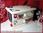 MDF mini mini dresser
