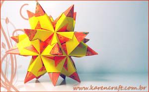 Orange Tornillo by KarenKaren