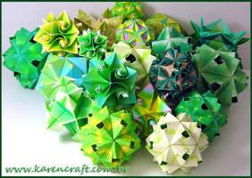 loooots of green by KarenKaren