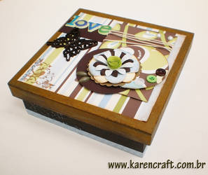 MDF Love Box by KarenKaren