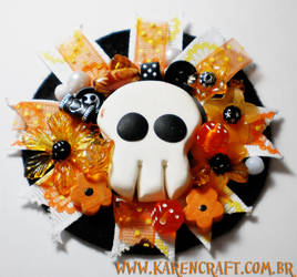 Halloween corsage