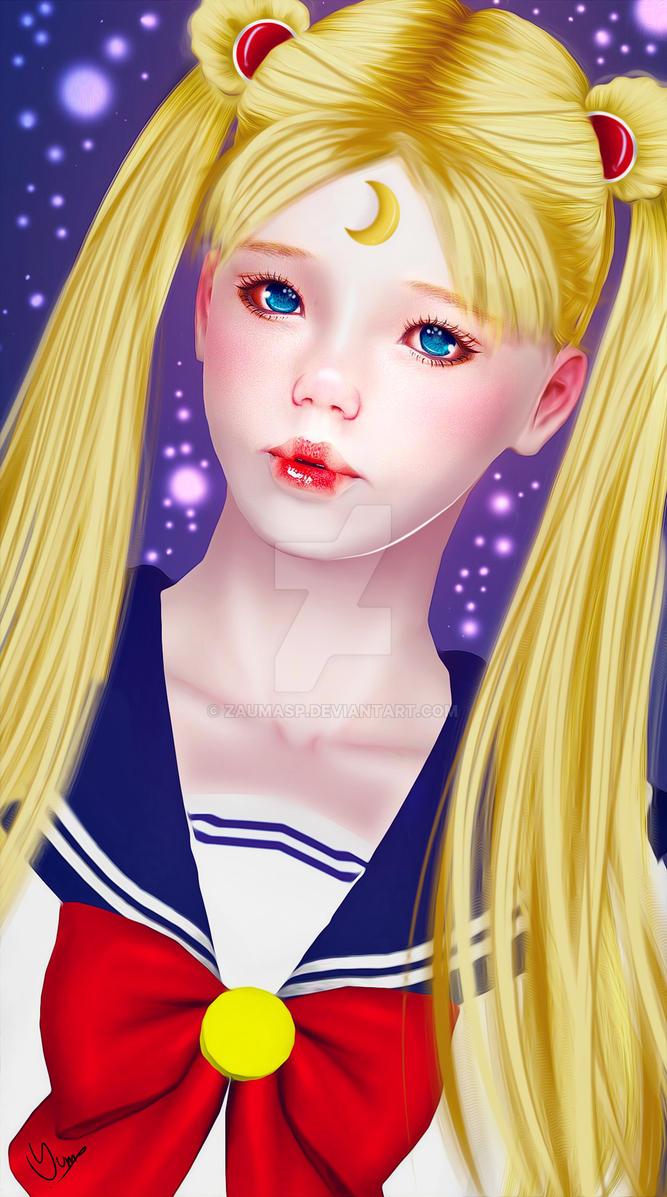 Usagi - Sailor Moon by ZaumaSP