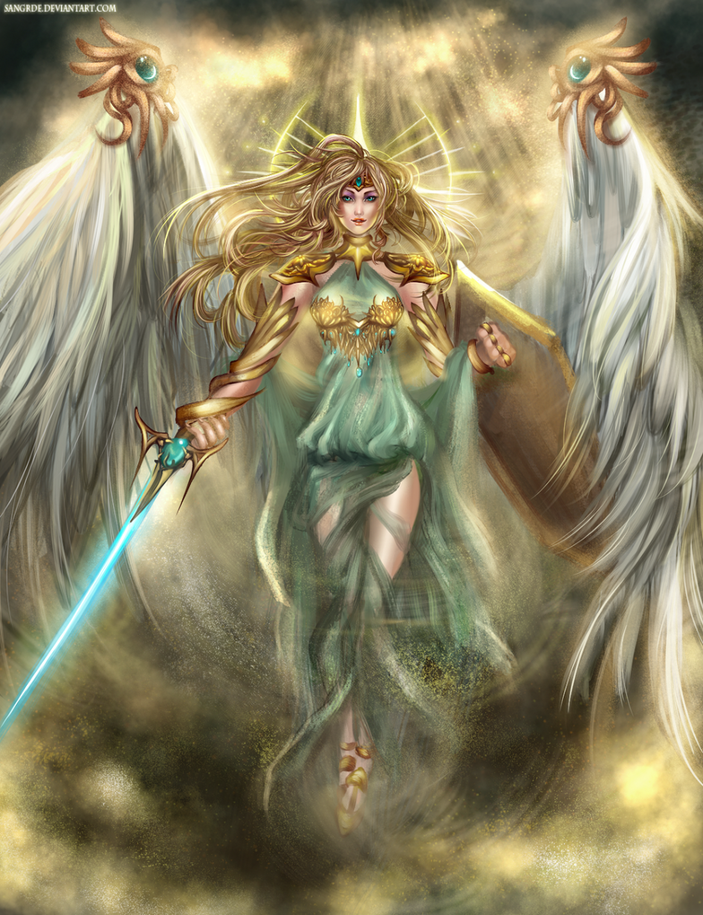 :: Aero the Last Goddess :: by Sangrde