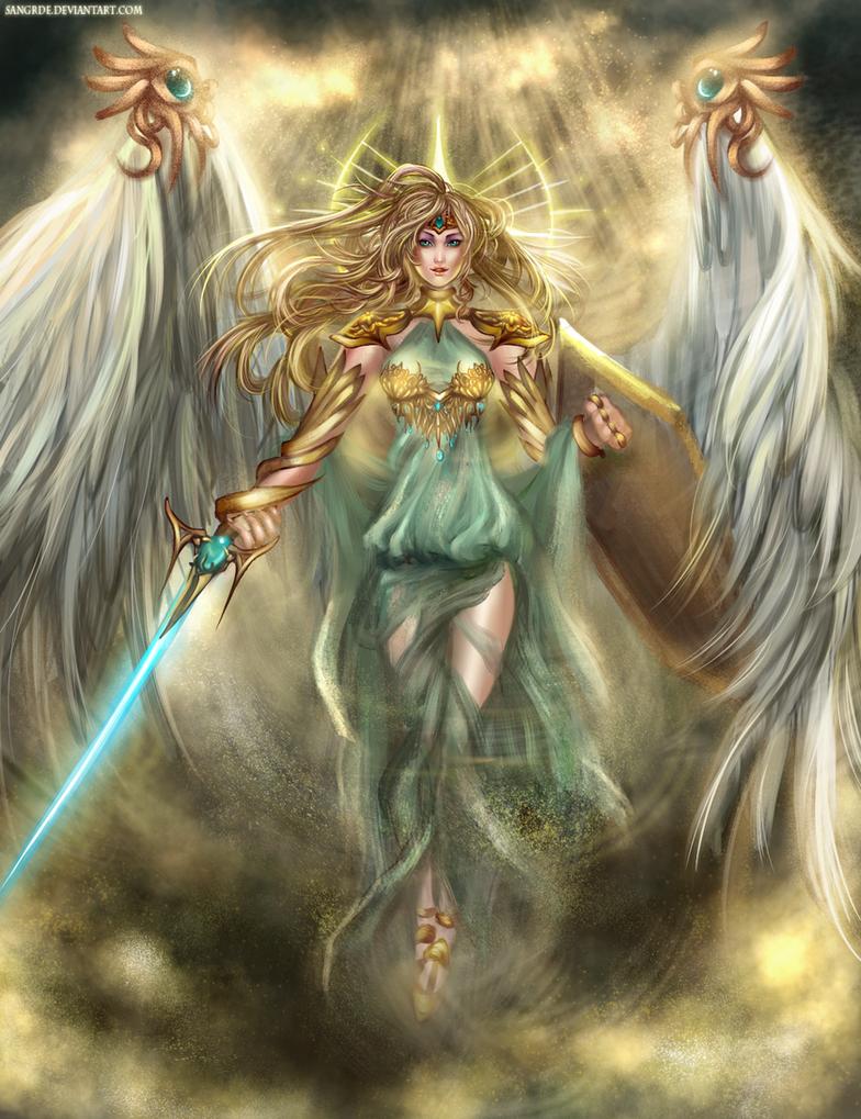 :: Aero the Last Goddess :: by Sangrde