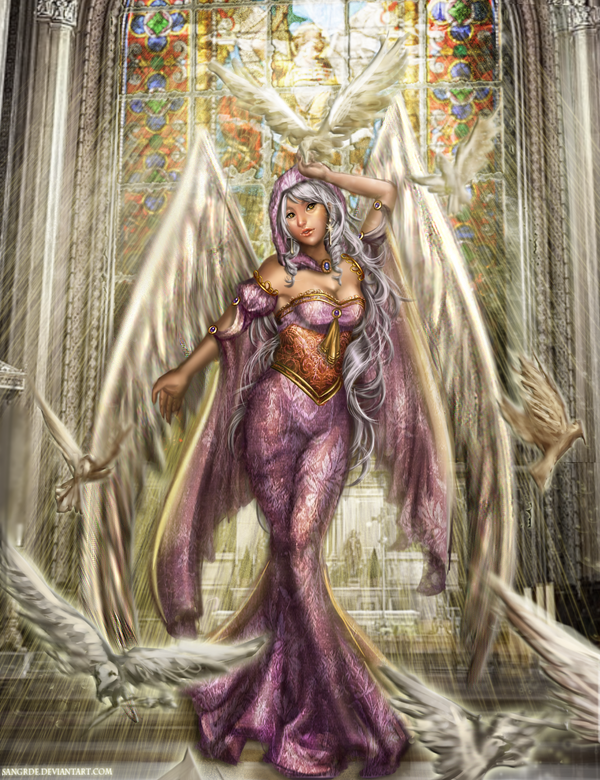 :: Laemna the Angel of Light :: by Sangrde