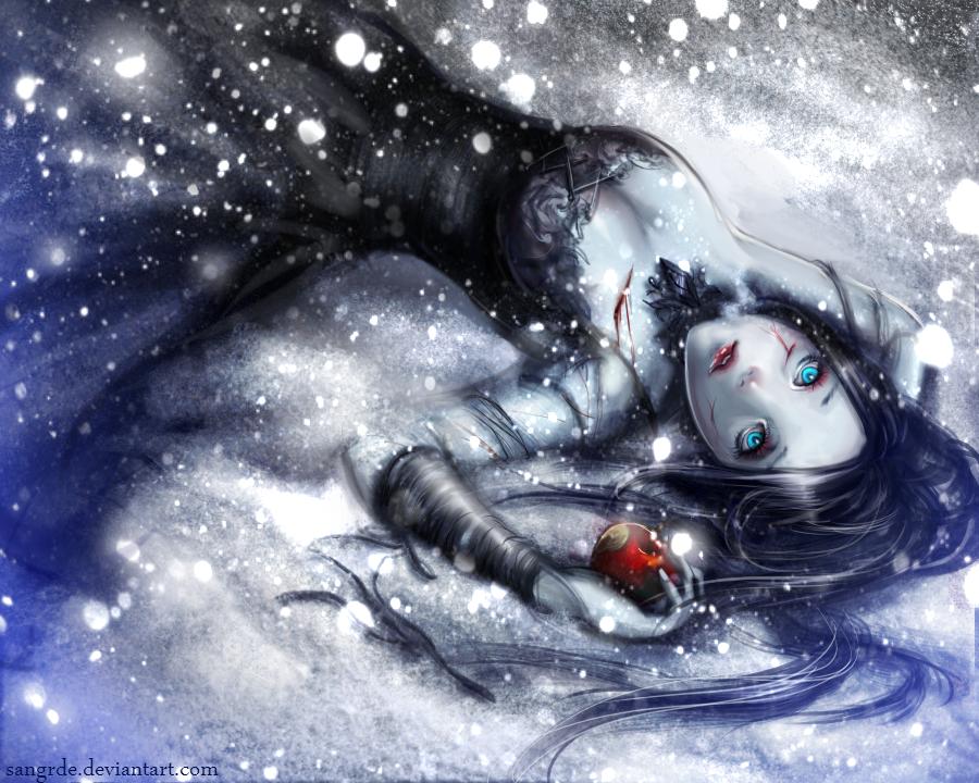 :: White as Snow, Red as Blood, Dark as Night :: by Sangrde