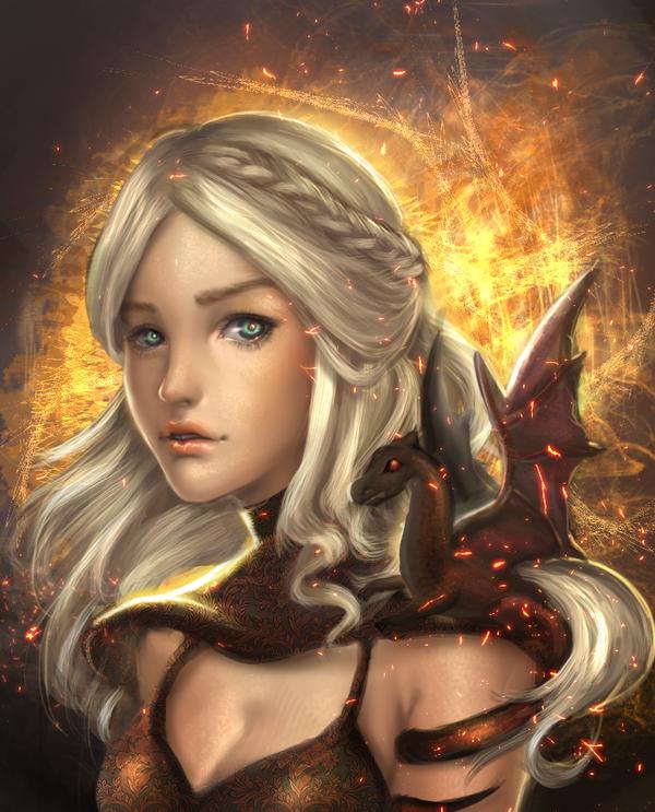 :: Daenerys Targaryen :: by Sangrde