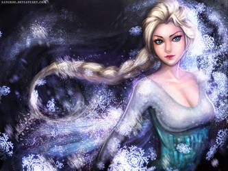 :: Elsa the Snow Queen Wallpaper ::