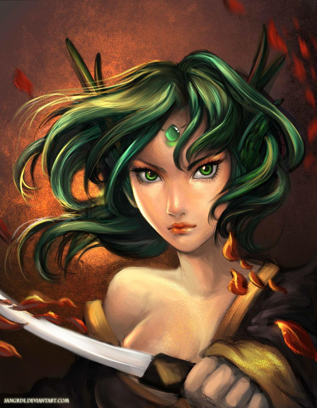 :: Dragon Warrior :: by Sangrde