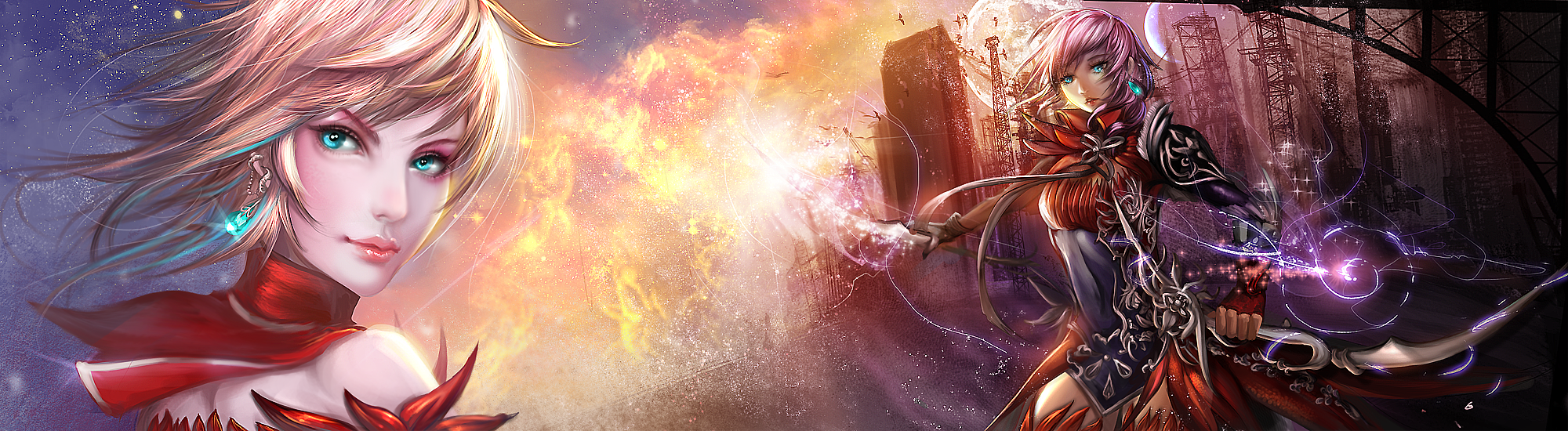 :: Fire Flower :: FFXIII Lightning Returns by Sangrde