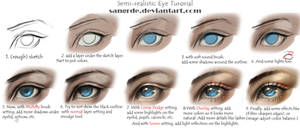 :: Semi-realistic Eye Tutorial ::