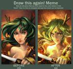 :: Draw This Again Meme::