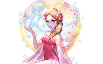 :: Flower Elsa::