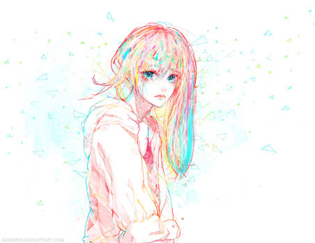 :: Rainbow Blue ::