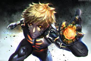 :: Demon Cyborg :: by Sangrde