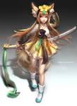 :: Fox girl Hanbok Outfit Design ::