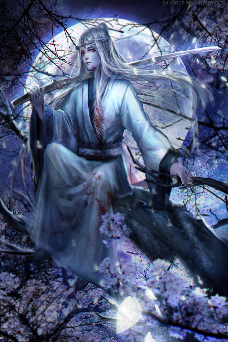 :: Oriental Vampire :: by Sangrde