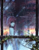 :: It's raining in My Heart Too:: by Sangrde