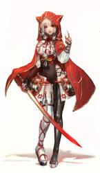 :: Red Hood Design :: by Sangrde