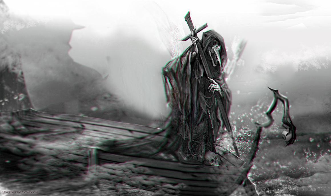 Charon The Ferryman By Sangrde On Deviantart
