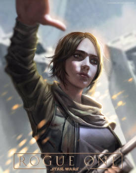 :: Jyn Erso - Rogue One  ::