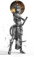 :: Dragon Lady :: by Sangrde