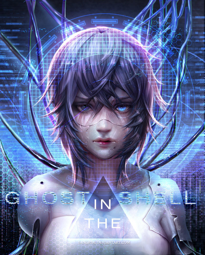 :: Ghost In The Shell :: By Sangrde On DeviantArt