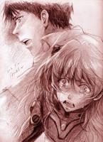 The newest Sadamoto's Eva..... by sabo-p