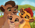 The siblings of the pridelands - The Lion Guard