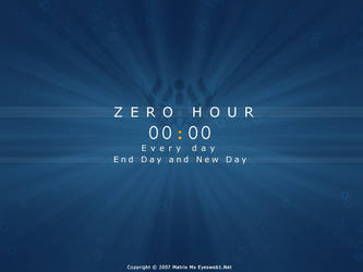 Zero Hour by eyesweb1