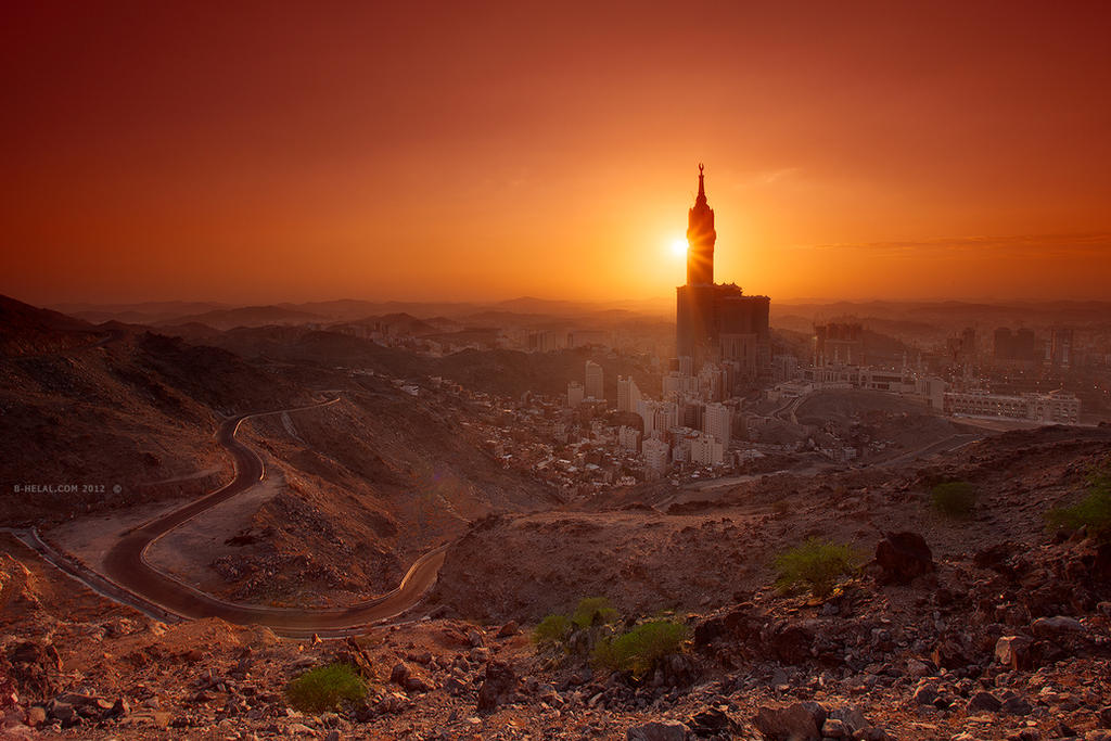 Golden Makkah by =eyesweb1