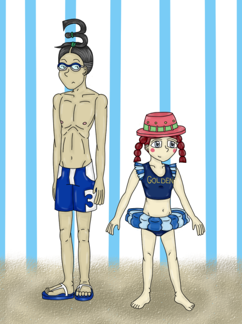 3 And Goldenweek - Beach Time by Screwed-In-The-Head