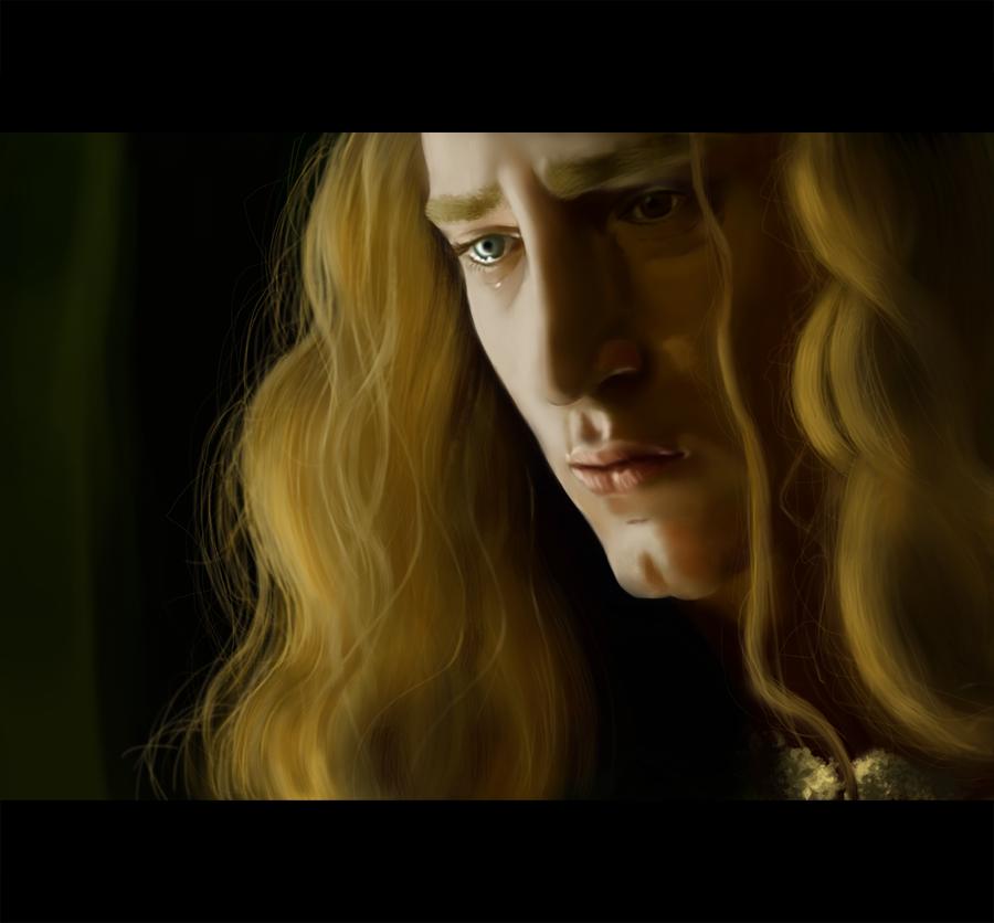 Le roi pleure by cloeliae