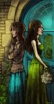 Hello my dear sister by Yonetee