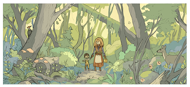 Woods by Yonetee