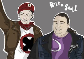 Bulk_+_Skull_Punks by GoldRangerKicksass